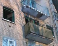 Пожар в квартире жилого дома едва не лишил жизни двух смолян