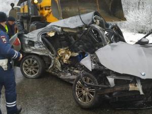 Фото: Под Смоленском произошло страшное ДТП со смертельным исходом