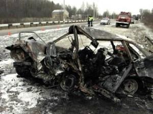 Четверо погибли, один – тяжело ранен на автодороге Брянск-Смоленск
