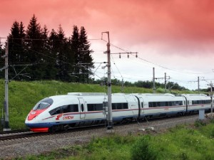 Самый быстрый поезд в России