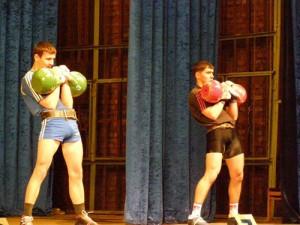 Чемпионат вооруженных сил по гиревому спорту стартовал в Смоленске