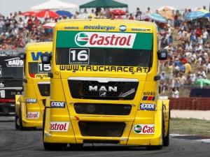VI этап чемпионата Европы по автогонкам на грузовиках в Смоленске состоялся