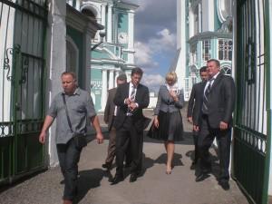 Участники совещания посетили Свято-Успенский кафедральный собор