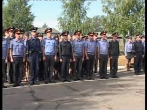 Слет молодых полицейских прошел в Смоленской области