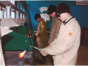 В Череповецком индустриальном колледже выявляли лучшего электросварщика ручной сварки