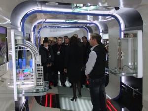 Передвижной выставочно-лекционный комплекс (ПВЛК) компании ОАО «РЖД» побывал в Смоленске