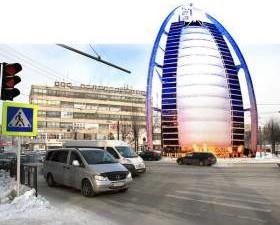 Торгово-гостиничный комплекс в Смоленске