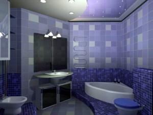 Модный дизайн ваных комнат
