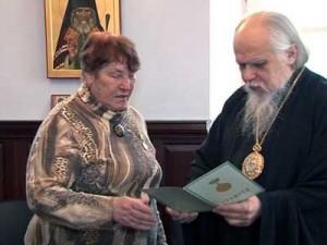 Надежда Хатуцкая получила медаль
