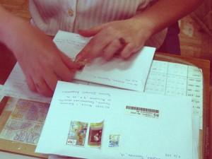 Марка и конверт от Смоленска