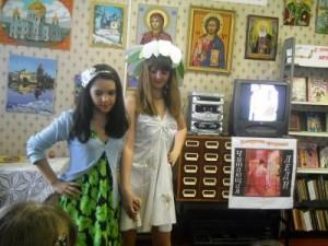 Смоленские девочки приняли участие в конкурсе «Читающая леди»