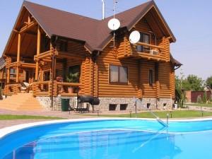 В какой последовательности строится деревянный дом