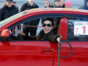 Самой лучшей автоледи 2012года стала жительница Москвы