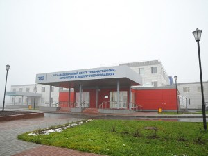 С работой федерального центра травматологии ознакомился губернатор Алексей Островский