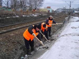 Железнодорожники Смоленска приготовились к возможному паводку