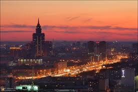 Самая красивая высотка Москвы Триумф палас