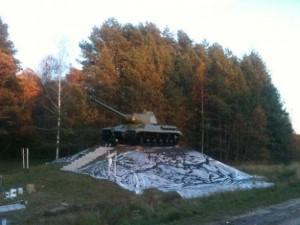 Памятный танк Т-34 будет отреставрирован