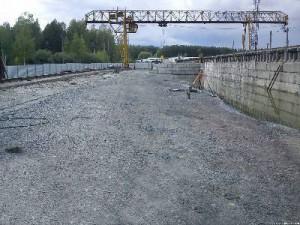 Как проводится ремонт подкрановых путей