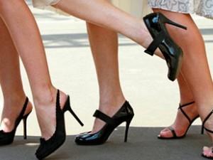 Вред от высоких каблуков
