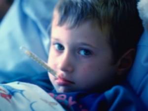 Повышенная температура у ребенка