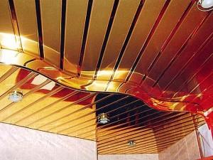 Как производится монтаж реечного потолка?