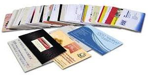 Создание современной визитки: методы и способы печати
