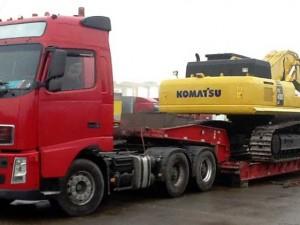 Транспортировка строительных грузов