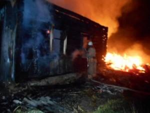 В Смоленской области пожаром, унёсшим жизни троих человек, заинтересовались следователи