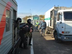 На железнодорожной станции Смоленск подавляли бунт заключенных