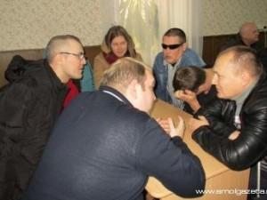 В Смоленске сразились слепые знатоки