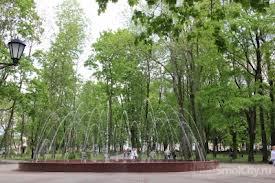В центре Смоленска появилась стим-панк скамья