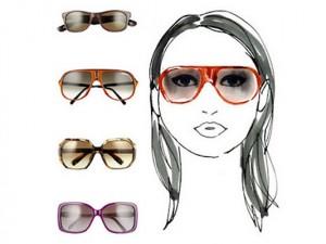 Как подобрать очки под тип лица