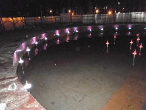 В Смоленске приступили к монтажу светящихся фонтанов