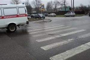 34-летнего пешехода сбила иномарка в Смоленской области