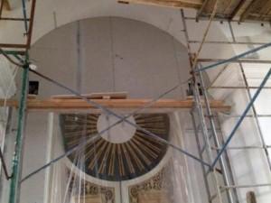 В селе Кузьмичи Смоленской области завершается реставрация старинной церкви