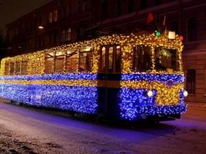 В Смоленске в новогоднюю ночь будут ходить трамваи и троллейбусы