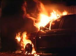 Мужчина сгорел в автомобиле под Смоленском
