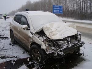 Два человека погибли и еще трое пострадали в ДТП в Смоленской области