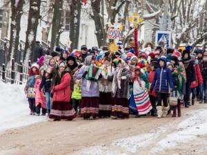 В Смоленской области устроили «Вяземские колядки»
