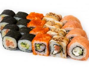 Суши. Правила потребления суши и роллов в пищу