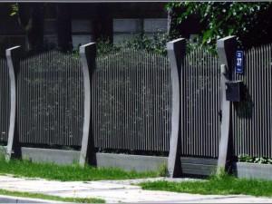 Забор. Металлические заборы