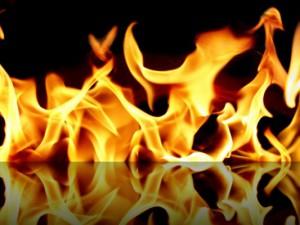 В Смоленской области от огня пострадал человек