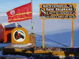 В Антарктиде появился флаг Смоленской области