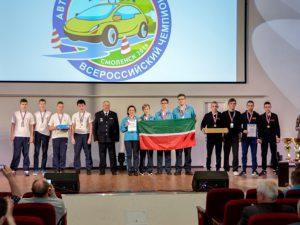 В Смоленске наградили победителей чемпионата по автомногоборью