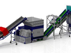 Современные возможности для переработки полимерных отходов, шредеры для пластика