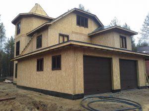 Дома из sip панелей от надежной строительной организации «QuickHouse»