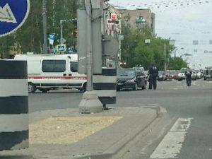 В Смоленске «скорая» попала в аварию