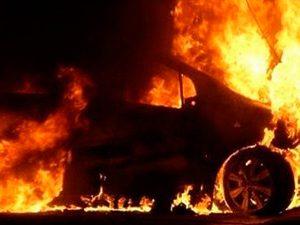 Под Смоленском сгорела «Toyota Corolla»