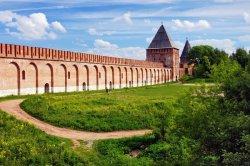 Смоленские власти на федеральном уровне решают вопрос о ремонте обвалившегося участка Крепостной стены