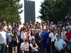 В Смоленской области почтили память погибших в 1941-м году студентов МГУ